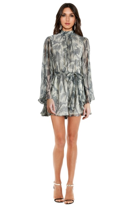 21789a7ca8 Adorn Flare Sleeve Playsuit by Zimmermann for Rent