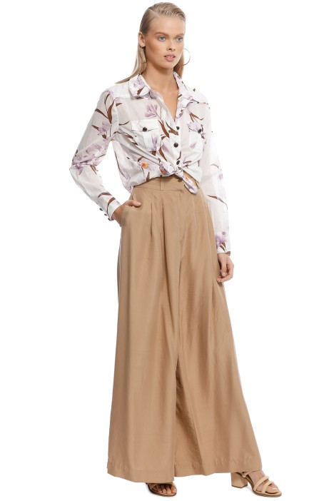 competitive price eae07 9034f Corsage Body Shirt Jacaranda by Zimmermann for Hire