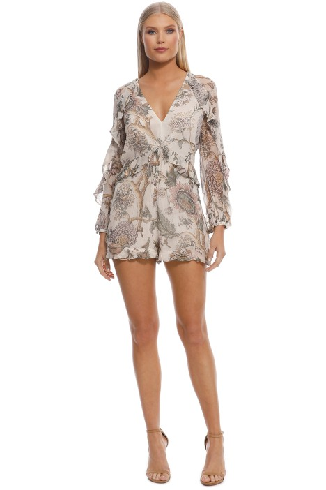 3f1e8e83c89 Karmic Flounce Playsuit by Zimmermann for Hire
