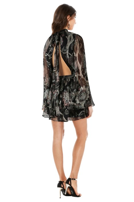 bdac7d9b40 Zimmermann - Lavish Flare Sleeve Playsuit - Indienne Floral - Back