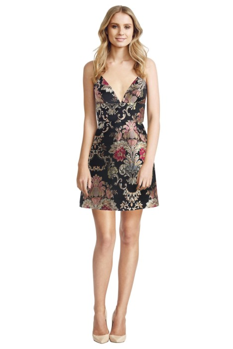 Zimmermann - Mischief Wallpaper Dress - Front - Floral