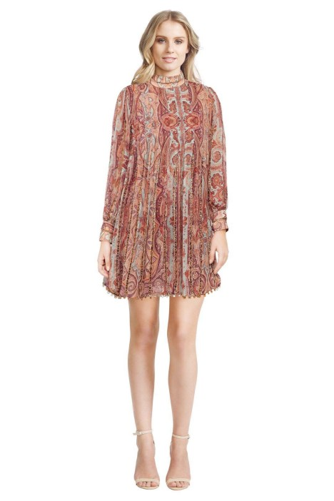 Zimmermann - Rhythm Links Swing Dress - Front
