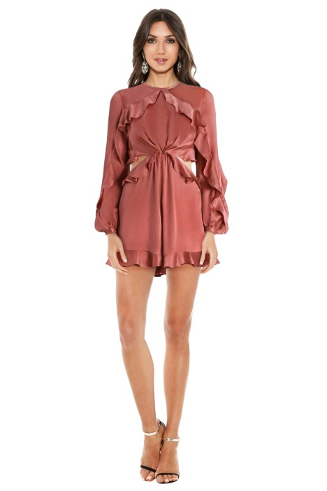 abe52594d55a Winsome Flutter Playsuit by Zimmermann for Hire