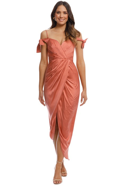 Winsome Drape Cocktail Dress By Zimmermann For Hire