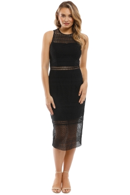 Grace & Hart - Show Me Up Fitted Midi - Front