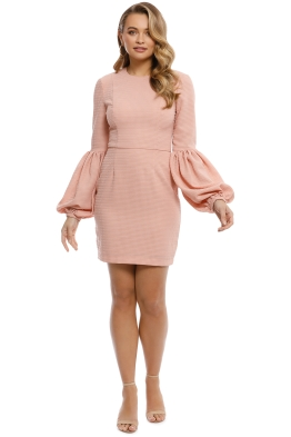 Rebecca Vallance - Ambrosia Mini Dress - Clay - Front