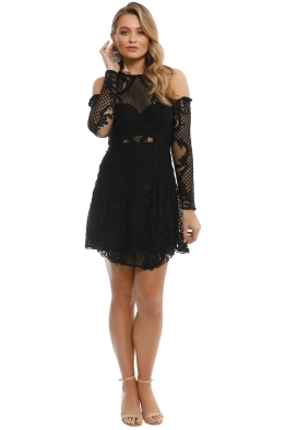 Thurley - Scarborough Fair Mini Dress - Black - Front
