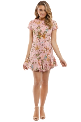 Zimmermann - Tropicale Lattice Dress - Front