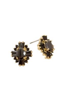 Adorne - CZ Deco Vintage Diamante Stud Earring