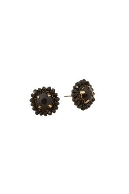 Adorne - Crystal Edge Jewel Centre Stud Earring