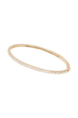 Adorne - Super Fine Diamante Hinge Bracelet - Gold