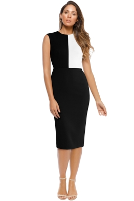 Alex Perry - Braydn Dress - Black - Front