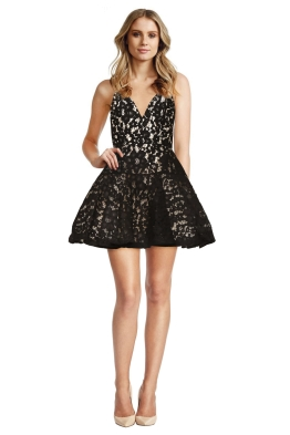 Alex Perry - Leisa Mini Dress - Black
