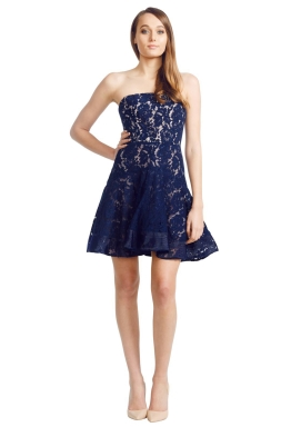 Alex Perry - Missy Dress - Front - Blue