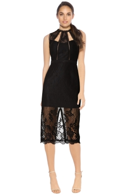 Alexis - Oralie Dress - Black - Front