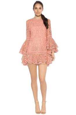 Alexis - Veronique Dress - Mauve - Front