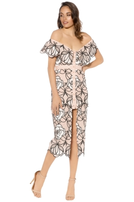 Alice Mc Call - Tutti Frutti Dress - Nude Floral - Front