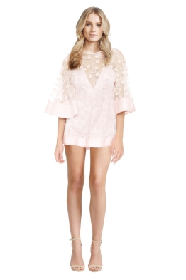 Alice McCall - Gypsy Eyes Playsuit - Front - Blush