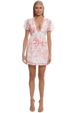 Alice McCall - Dont Wait Dress - Pink Print - Front