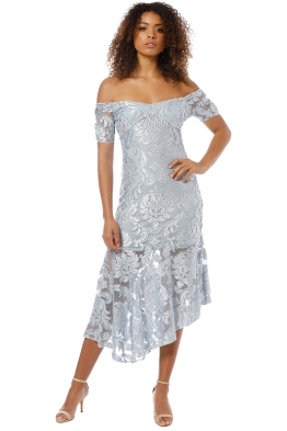 Alice McCall - Fleur De Lys Gown - Pastel Blue - Front