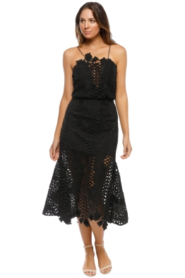 Alice McCall - Love Light Dress - Black - Front