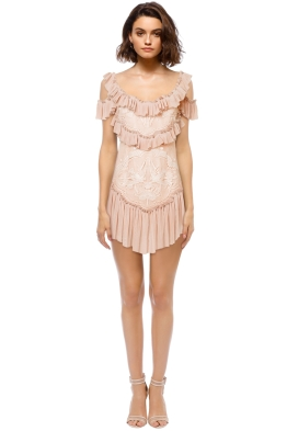 Alice McCall - Lovebirds Dress Rose - Front