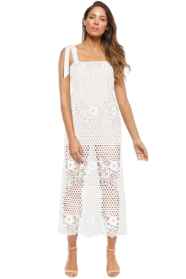 Alice McCall - Secret Love Dress - White - Front