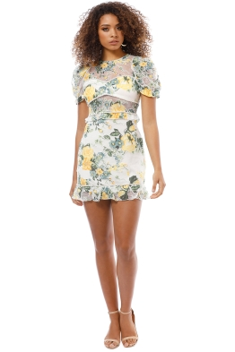 Alice McCall - So Darling Dress - Sunset - Front