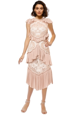 Alice McCall - Sweet Emotion Dress - Rose - Front