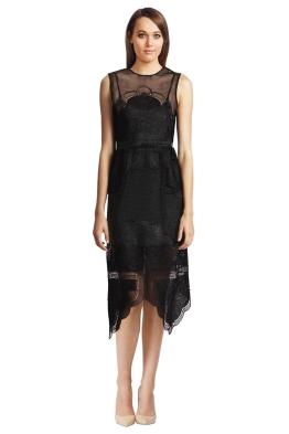 Alice McCall - Talk the Talk Dress Black - Front