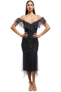 Alice McCall - Venus Valentine Midi Dress - Indigo - Front