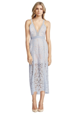 Alice McCall - Wanderlust Dress - Powder Blue - Front