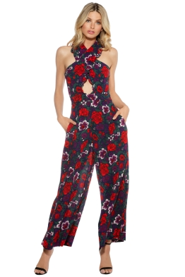 Alice McCall - Wildwood Jumpsuit - Violet - Front