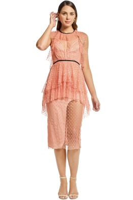 Alice McCall - You and Me Dress - Rose - Front