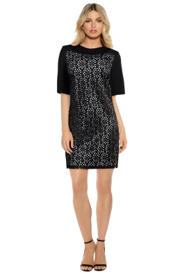 Anna Scholz - Laser Cut Neoprene Tunic - Front