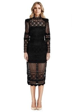 Asilio - A Love Like That Dress - Black - Front