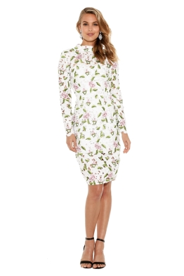 Asilio - Object Of Desire Dress - Floral White - Front