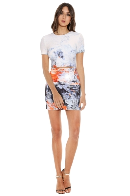 Bec & Bridge - Fire & Ice Tee Dress - Front