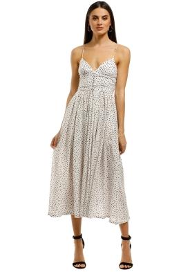 Bec+Bridge-Miss-Frenchie-Midi-Dress-Spot-Print-Front