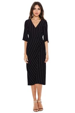 Bec & Bridge - Bastille Dress - Black - Front