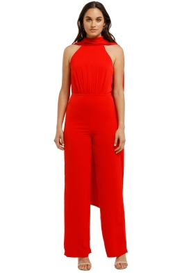 Bianca-and-Bridgett-scarlet-jumpsuit-red-Front