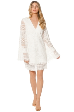 Blessed are the Meek - Ava Dress - White - Front