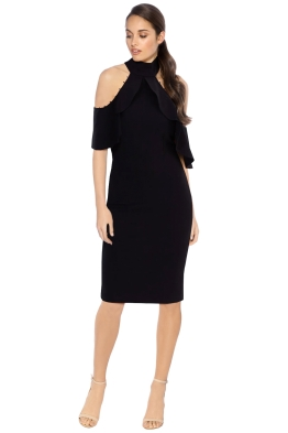 Blessed are the Meek  - Isadora Dress - Black - Front