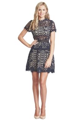 Bronx and Banco - Positano Dress - Navy - Front V2