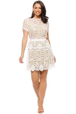 Bronx and Banco - White Positano Dress - White - Front