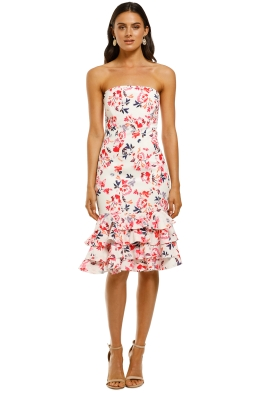 By-Johnny-Delphinium-Strapless-Dress-White-Pink-Black-Front