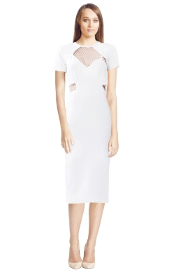 By Johnny - Discord Dress - White - Front