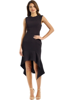 By Johnny - Midnight Panel Shift Dress - Black - Front