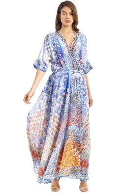 Camilla - Dreams Dress - Blue - Front