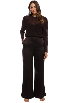 Camilla and Marc - Henderson Jumpsuit - Black - Front